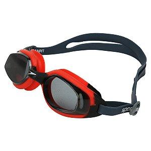 Óculos De Natação Speedo Smart SLC - Preto+Vermelho