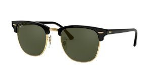Ray-Ban Clubmaster 0RB3016 Preto