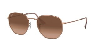 Ray-Ban Hexagonal 0RB3548NL Bronze