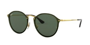 Ray-Ban Blaze Round 0RB3574N Ouro