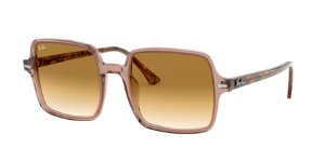 Ray-Ban Square II 0RB1973 Castanho Claro
