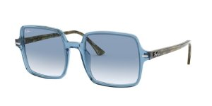 Ray-Ban Square II 0RB1973 Azul Celeste