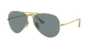 Ray-Ban Aviator Metal II 0RB3689 Ouro Polarizado