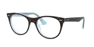 Ray-Ban Optical Wayfarer II 0RX2185V Top Havana Az