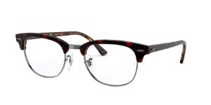 Ray-Ban Optical Clubmaster 0RX5154 Top Vermelho