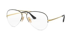 Ray-Ban Optical Aviator Gaze 0RX6589 Ouro Pr