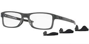 Oakley Chamfer MNP OX8089 - Satin Grey Smoke 03/54