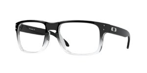 Oakley Holbrook Rx OX8156 - Polished Black Clear Fade 06/56