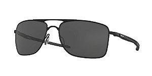 Oakley Gauge 8 OO4124 Matte Black Lentes Grey 01