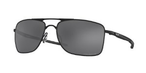 Oakley Gauge 8 OO4124 Matte Black Lentes Prizm Black Polarized 02