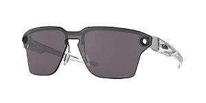 Oakley Lugplate OO4139 Satin Black Lentes Prizm Grey 01