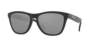 Oakley Frogskins OO9013 Matte Black Lentes Prizm Black Polarized F7