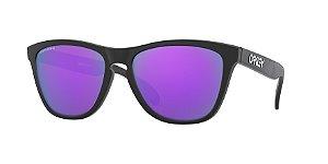 Oakley Frogskins OO9013 Matte Black Lentes Prizm Violet H6