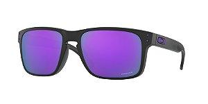 Oakley Holbrook OO9102 Matte Black Lentes Prizm Violet K6