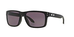 Oakley Holbrook OO9102L Matte Black Lentes Grey 01