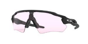 Oakley Radar Ev Path OO9208 Polished Black Lentes Prizm Low Light 98