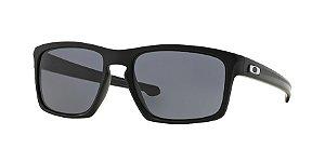 Oakley Sliver OO9262L Matte Black Lentes Grey 01