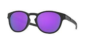 Oakley Latch OO9265 Matte Black Lentes Prizm Violet 55