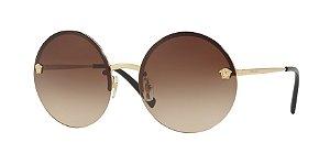 Versace VE2176  Pale Gold Lentes Brown Gradient