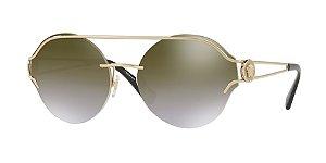 Versace VE2184  Pale Gold Lentes Gradient Brown Mirror Gold