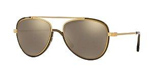 Versace VE2193  Tribute Gold/Transp Dark Green Lentes Light Brown Mirror Gold