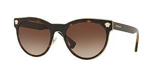 Versace VE2198 MEDUSA CHARM Dark Havana Lentes Brown Gradient