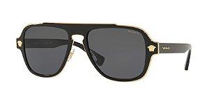 Versace VE2199 MEDUSA CHARM Black Lentes Polar Grey
