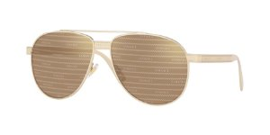 Versace VE2209  Pale Gold Lentes Brown Tamp Versace Silver Gold