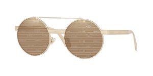 Versace VE2210  Pale Gold Lentes Brown Tamp Versace Silver Gold