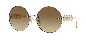 Versace VE2214  Pale Gold Lentes Brown Gradient
