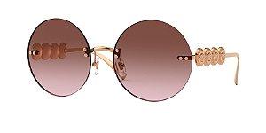 Versace VE2214  Pink Gold Lentes Pink Gradient Grey
