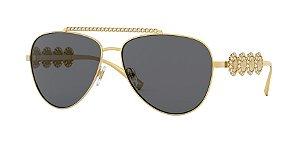 Versace VE2219B  Gold Lentes Grey