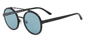 Giorgio Armani AR6070 Matte Black Lentes Blue