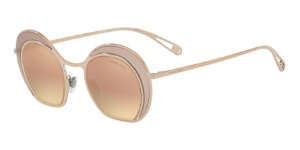 Giorgio Armani AR6073 Turtledove/Bronze Lentes Grey Mirror Rose Gold