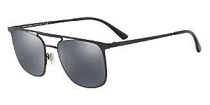Giorgio Armani AR6076 Matte Black Lentes Light Grey Mirror Black