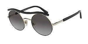 Giorgio Armani AR6082 Pale Gold Lentes Grey Gradient