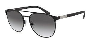Giorgio Armani AR6083 Matte Black Lentes Grey Gradient