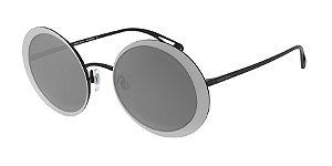 Giorgio Armani AR6087 Black Lentes Grey Mirror Black