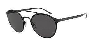 Giorgio Armani AR6089 Matte Black Lentes Grey