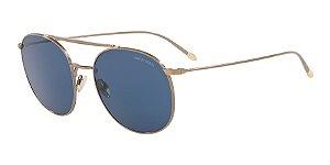 Giorgio Armani AR6092 Brushed Gold Lentes Blue