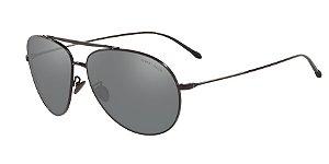 Giorgio Armani AR6093 Black Lentes Grey Mirror Silver