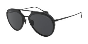 Giorgio Armani AR6097 Matte Black Lentes Grey