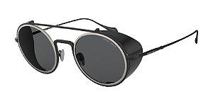 Giorgio Armani AR6098 Matte Black Lentes Grey