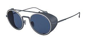 Giorgio Armani AR6098 Matte Blue Lentes Blue
