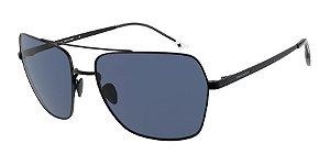Giorgio Armani AR6105 Matte Black Lentes Blue