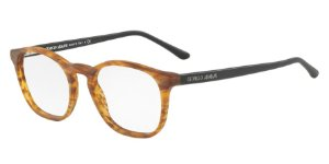 Giorgio Armani AR7074 Matte Striped Light Brown