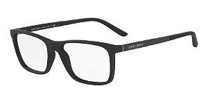 Giorgio Armani AR7104 Black Rubber