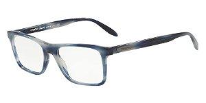 Giorgio Armani AR7163 Striped Blue
