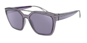 Giorgio Armani AR8125 Violet Lentes Violet Mirror Violet