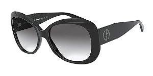 Giorgio Armani AR8132 Black Lentes Grey Gradient